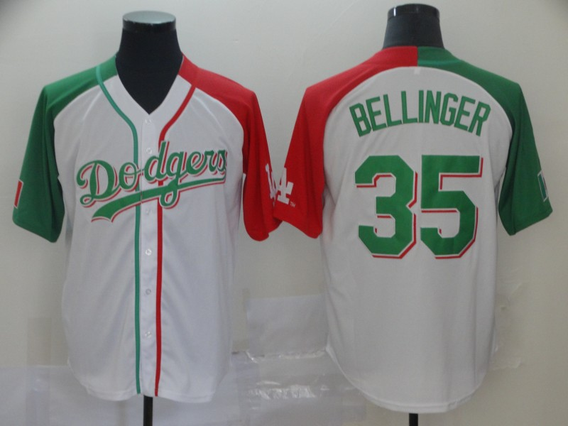 Dodgers 35 Cody Bellinger White Mexican Heritage Culture Night Jersey Mexico