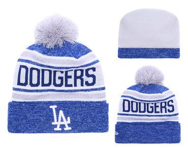 Dodgers Team Logo Knit Hat 1 YD