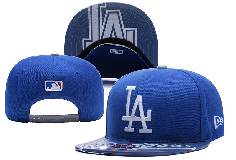 Dodgers Team Logo Royal Adjustable Hat YD