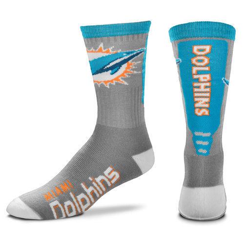 Dolphins Team Logo NFL Socks