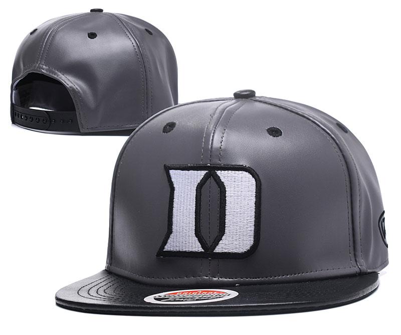 Duke Blue Devils Team Logo Gray Adjustable Hat GS