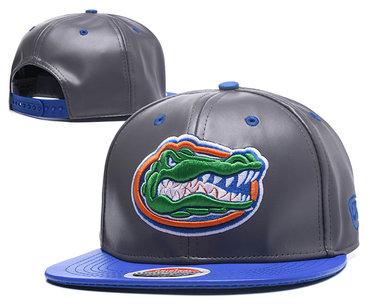 Florida Gators Team Logo Gray Ajustable Hat GS2