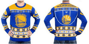 Golden State Warriors Men's NBA Ugly Sweater-1