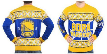 Golden State Warriors Men's NBA Ugly Sweater