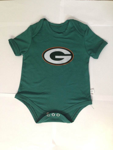 Green Bay Packers Newborn Team Creepers - Green
