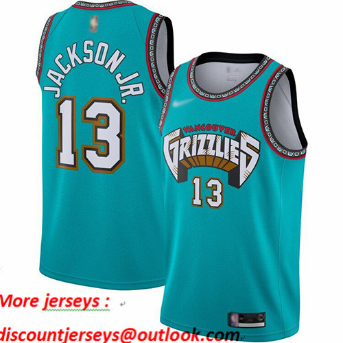 Grizzlies #13 Jaren Jackson Jr. Green Basketball Swingman Hardwood Classics Jersey