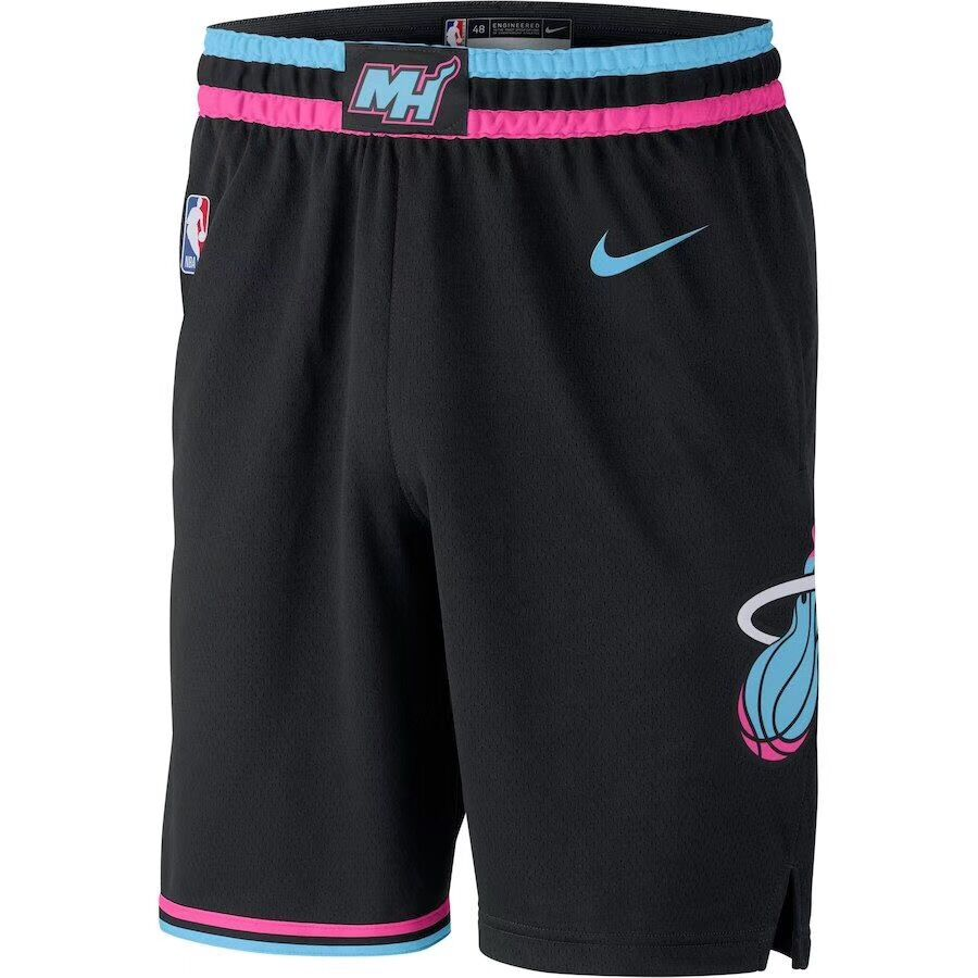 Heat 2018-19 City Edition Nike Swingman Shorts