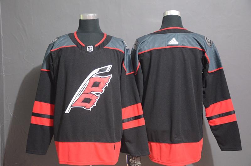Hurricanes Blank Black Adidas Jersey