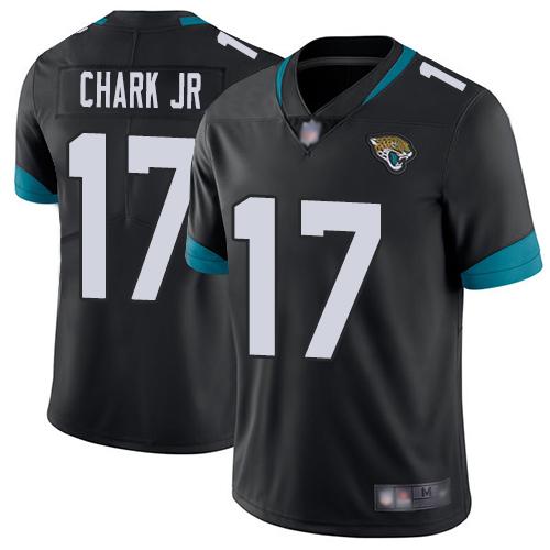 Jaguars #17 DJ Chark Jr Black Team Color Men's Stitched Football Vapor Untouchable Limited Jersey