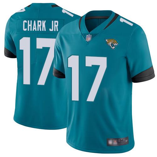 Jaguars #17 DJ Chark Jr Teal Green Alternate Men's Stitched Football Vapor Untouchable Limited Jersey