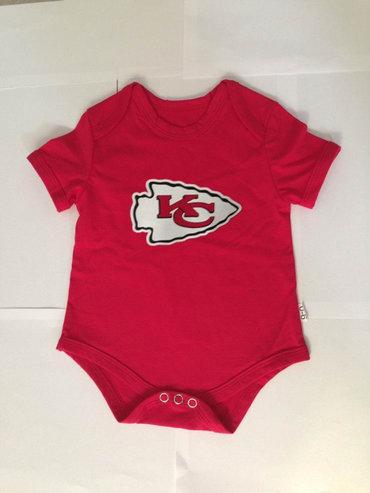 Kansas City Chiefs Infant Creeper Set - Red