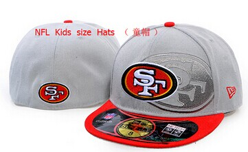 Kids NFL Niners fitted Grey hat