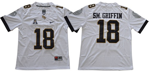 Knights #18 Shaquem Griffin White Limited Stitched NCAA Jersey$49.00$22.50
