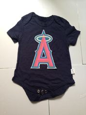 LA Angels of Anaheim MLB Kids Newborn&Infant Gear black