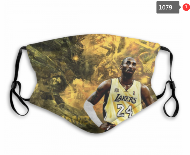Lakers Kobe Mask with Filter Double Protection PM2.5 (9)