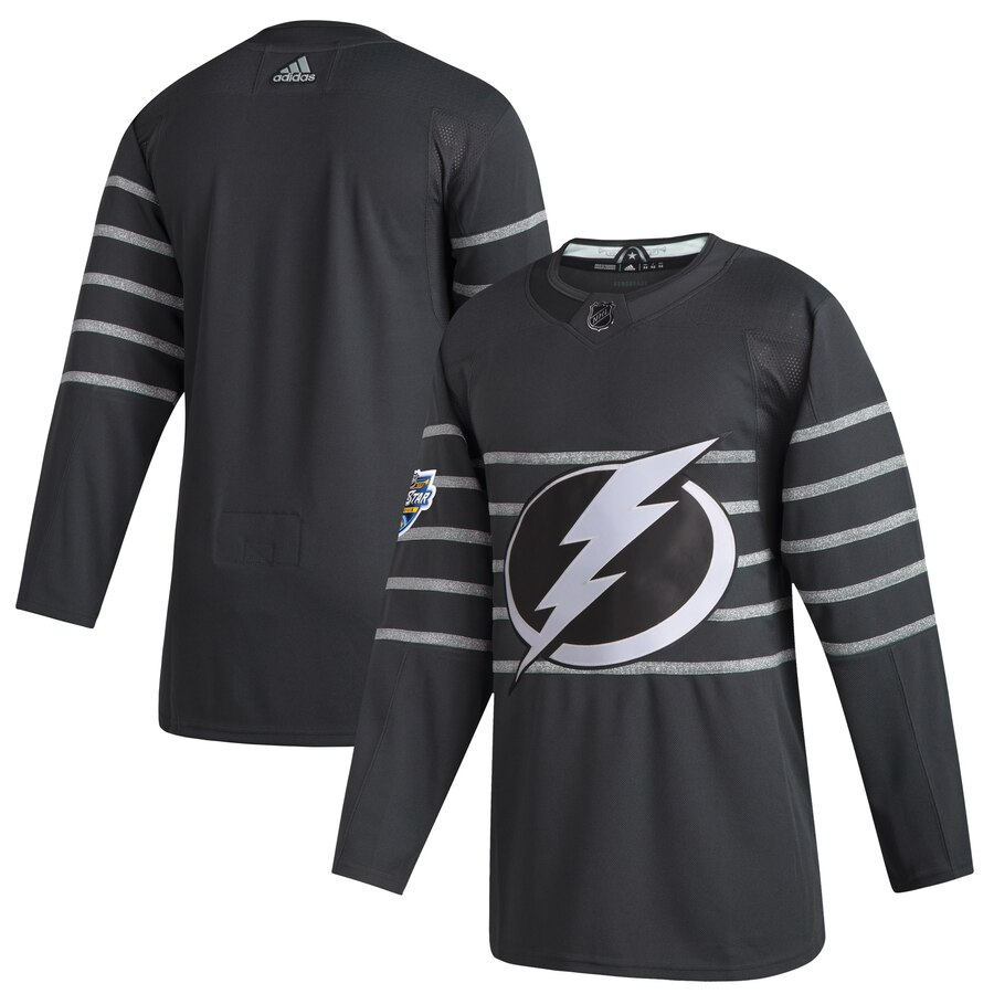Lightning Blank Gray 2020 NHL All-Star Game Adidas Jersey