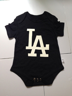 Los Angeles Dodgers MLB Kids Newborn&Infant Gear Black