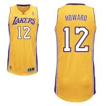 reputable site a08cc bdb44 Los Angeles Lakers 12# Dwight Howard Yellow Revolution 30 ...