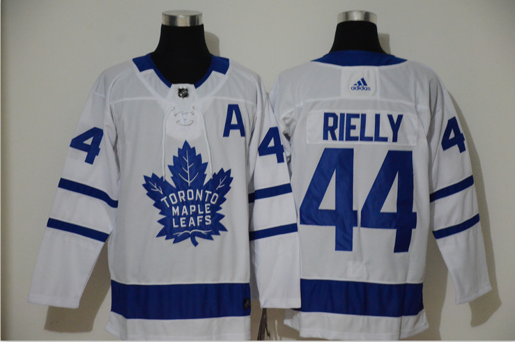 Maple Leafs 44 Morgan Rielly White Adidas Jersey
