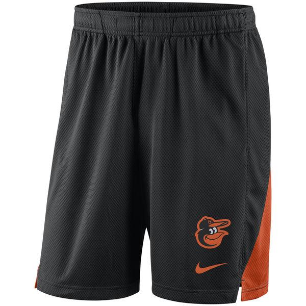 Men's Baltimore Orioles Nike Black Franchise Performance Shorts