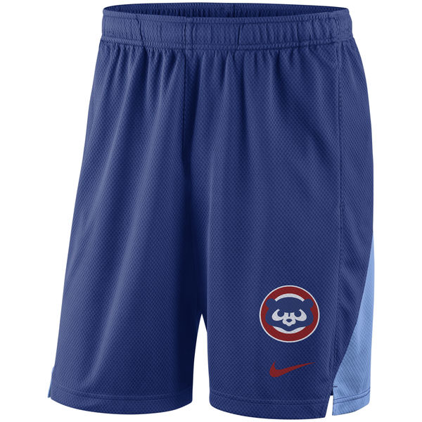 Men's Chicago Cubs Nike Royal Franchise Throwback Performance Shorts