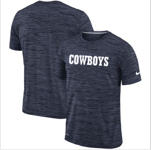 Men's Dallas Cowboys Nike Navy Velocity Performance T-Shirt
