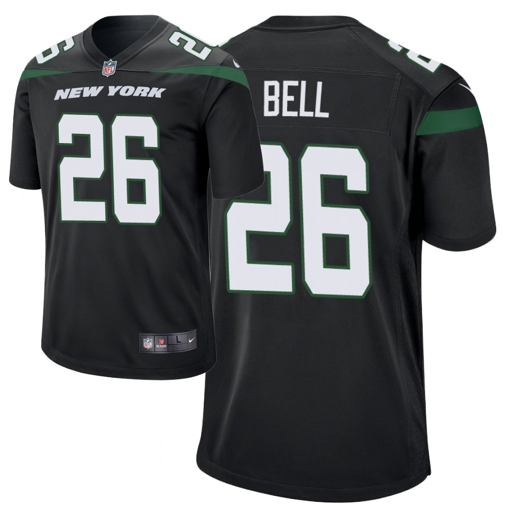 Men's New York Jets #26 Le'Veon Bell black Player Game