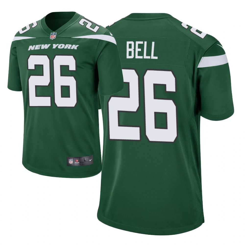 Men's New York Jets #26 Le'Veon Bell green Player Game Jersey