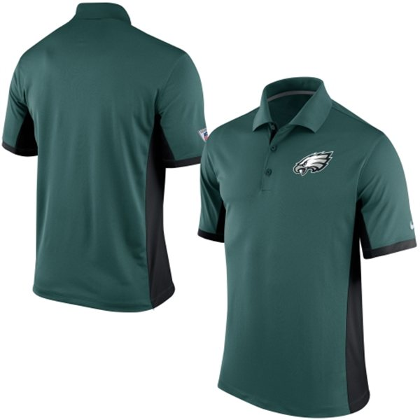 Men's Philadelphia Eagles Nike Green Team Issue Performance Polo