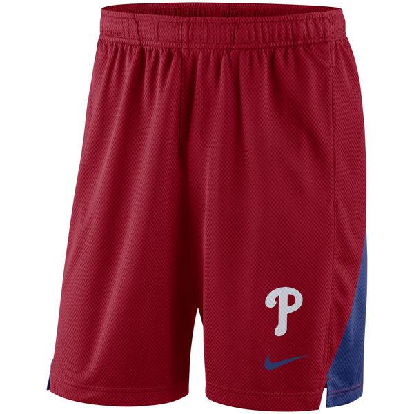 Men's Philadelphia Phillies Nike Red Franchise Performance Shorts
