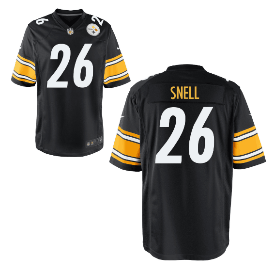 0f38788a63e Men's Pittsburgh Steelers #26 Benny Snell Jr Black Vapor Limited Jersey