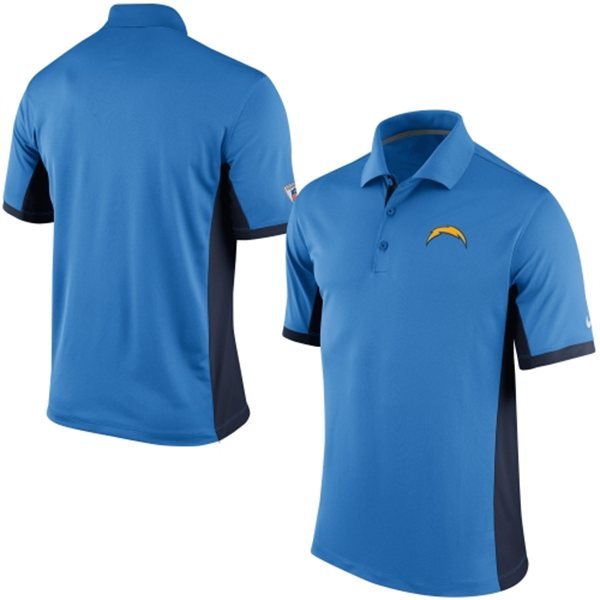 Men's San Diego Chargers Nike Powder Blue Team Issue Performance Polo