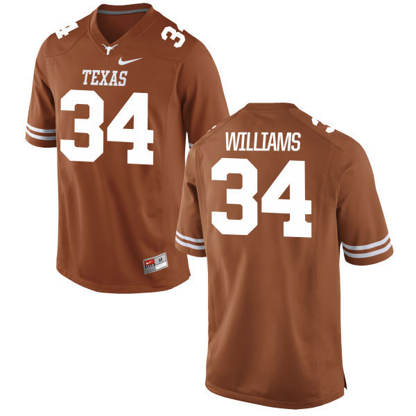 Men's Texas Longhorns 34 Ricky Williams Orange Nike College Jersey
