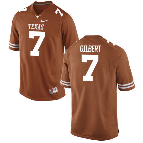 Men's Texas Longhorns 7 Garrett Gilbert Orange Nike College Jersey
