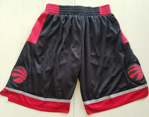 Men's Toronto Raptors Nike Black Statement Edition Swingman Performance Shorts