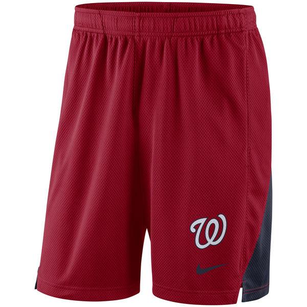 Men's Washington Nationals Nike Red Franchise Performance Shorts
