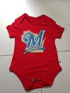 Milwaukee Brewers MLB Kids Newborn&Infant Gear Red