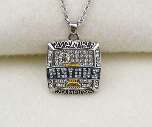 NBA Detroit Pistons 2004 World Champions Pendant