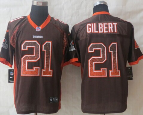 2014 NEW Cleveland Browns #12 Josh Gordon Brown Team Color NFL Elite  supplier