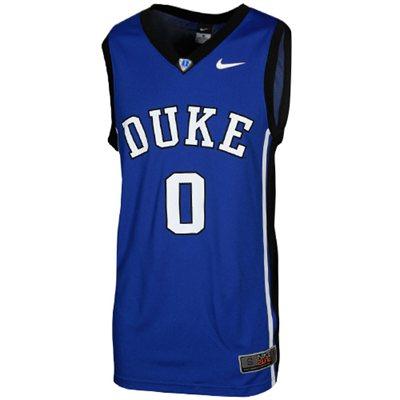 NEW Duke Blue Devils #0 Elite Replica Basketball Jersey - Duke Blue