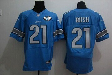 low priced 2d15f e1d76 NEW Lions #21 Reggie Bush Grey Shadow With WCF Patch Jersey ...