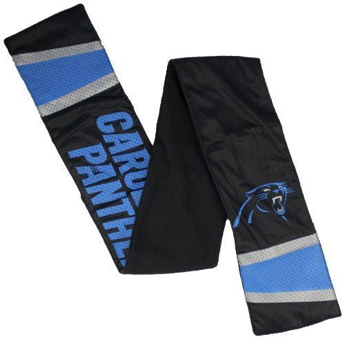 NFL Carolina  Panthers Jersey Sacarf With Zip Pocket