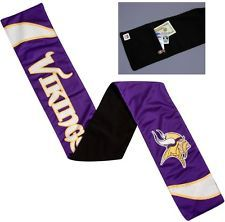 NFL Minnesota Vikings Jersey Scarf With Zip Pocket