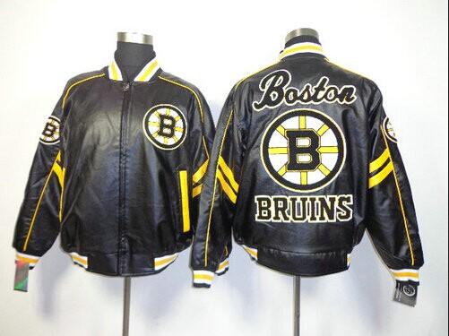 NHL Boston Bruins Leather Jacket