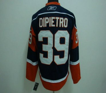 NHL Jerseys Channel Islands #39 DIPIETRO blue