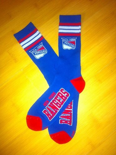 NHL New York Rangers Socks