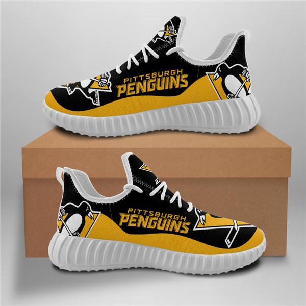 NHL Penguins Mesh Knit Sneakers