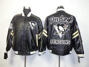 NHL Pittsburgh Penguins Leather Jacket