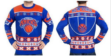 New York Knicks Men''s NBA Ugly Sweater