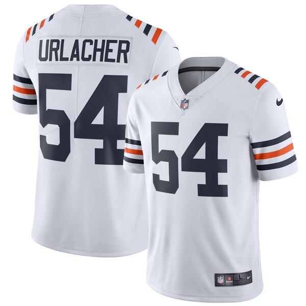 Nike Bears 54 Brian Urlacher White 2019 Alternate Classic Retired Vapor Untouchable Limited Jersey